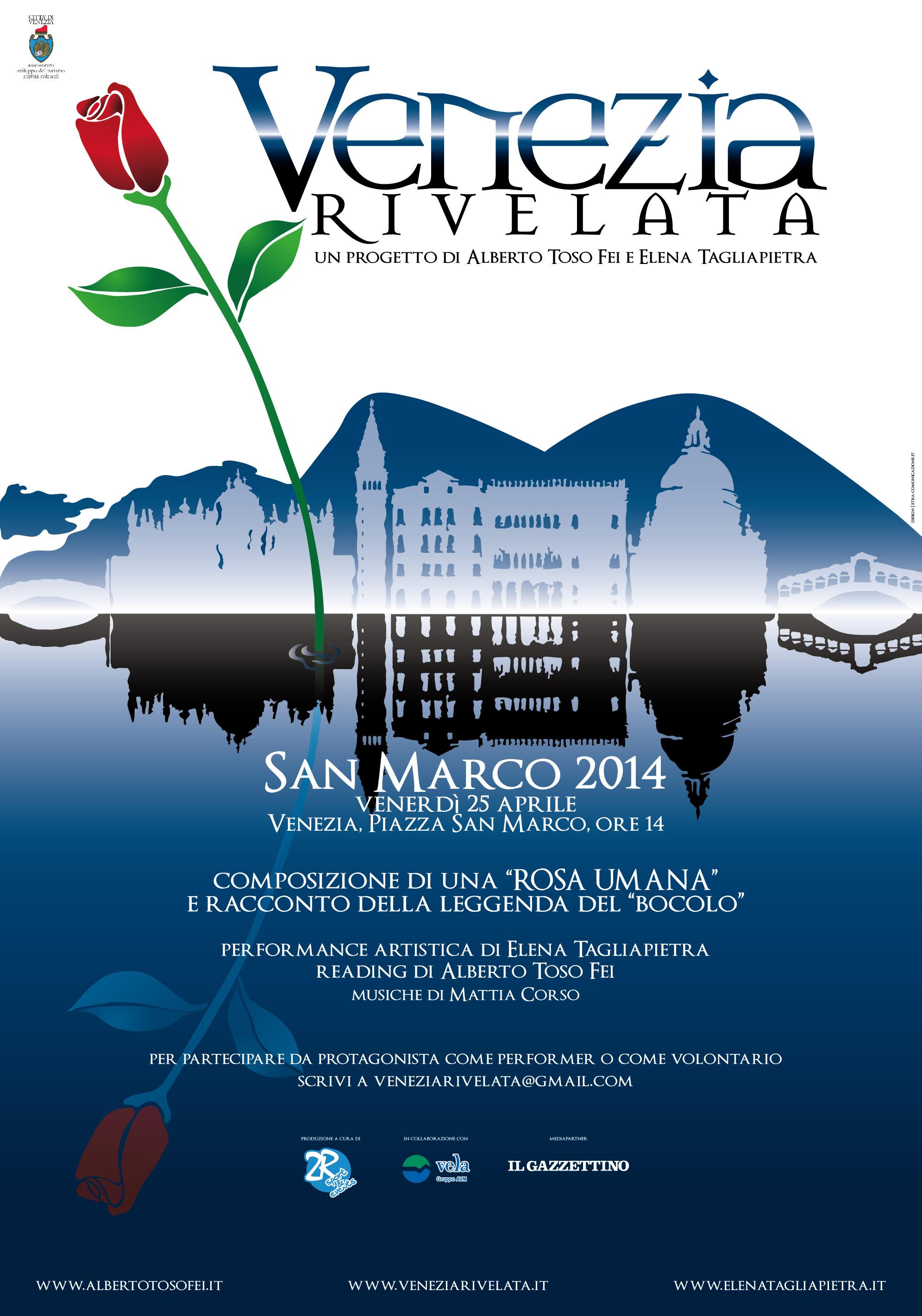 manifesto aprile 2014 una orsa per Venezia