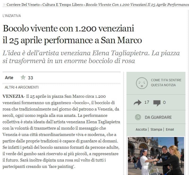 CORRIERE DEL VENETO WEB  PRE ROSA