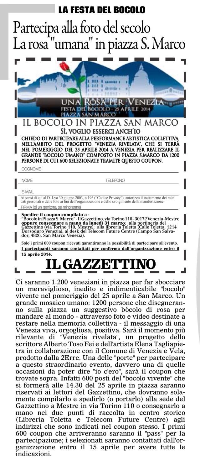 coupon gazzettino foto del secolo venezia