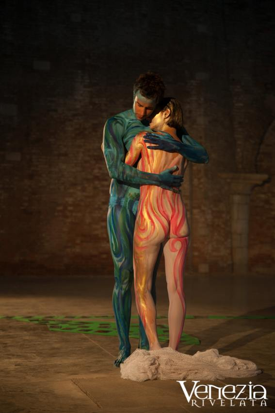 festa della sensa body painting venezia rivelata performance